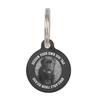 Placa Para Mascotas Haga su propio único personalizada