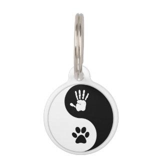 Placa Para Mascotas Mascotas - etiqueta de la identificación de
