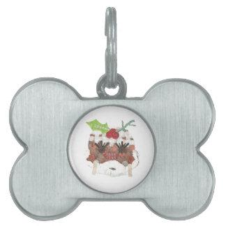 Placa Para Mascotas Ms Pudding Bone Pet Tag