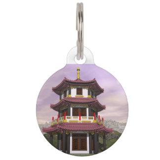 Placa Para Mascotas Pagoda - 3D rinden