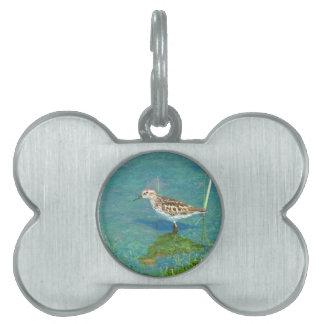 Placa Para Mascotas pájaros