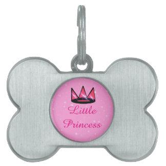 Placa Para Mascotas Pequeña princesa