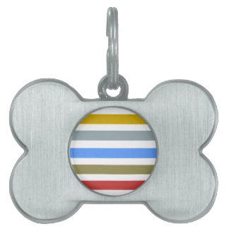 Placa Para Mascotas Playbow/etiqueta del mascota del hueso