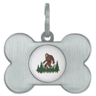 Placa Para Mascotas Territorios protegidos