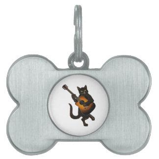 Placa Para Mascotas Tono felino