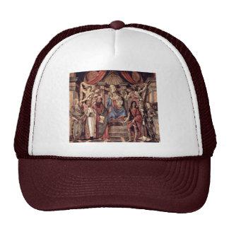 Placa principal del Altarpiece: Madonna Enthroned  Gorro