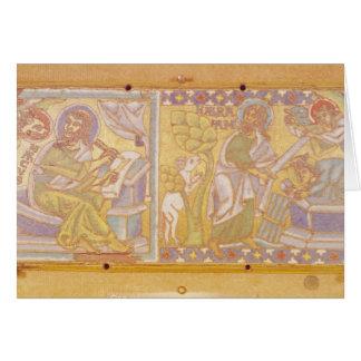 Placa que representa St Mark Tarjeta De Felicitación
