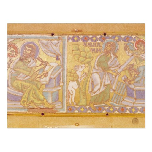 Placa que representa St Mark Tarjeta Postal
