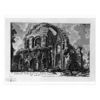 Placa XVI. Templo de Minerva Medica. por Juan Postal