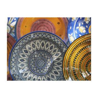 Placas de cerámica impresión en lona