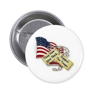 placas de identificación y bandera chapa redonda 5 cm