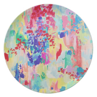 Placas de la melamina del arte de Carolyn Joe Plato
