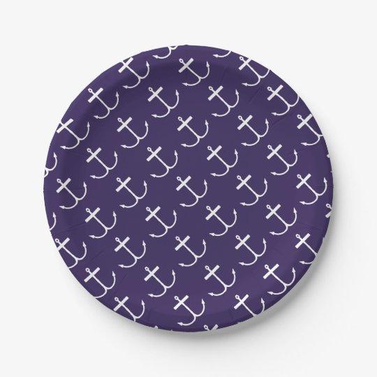 Placas de papel ausentes de las anclas (impresión plato de papel