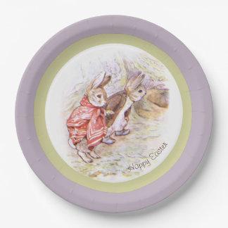 Placas de papel de Beatrix Potter Plato De Papel