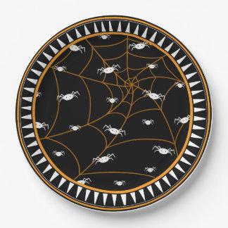 "Placas de papel de Halloween 9"" Plato De Papel"