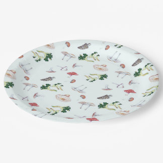 Placas de papel de la mezcla de la seta plato de papel