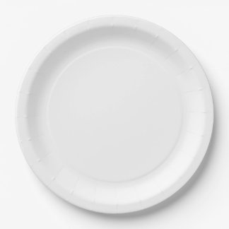 Placas de papel grandes plato de papel