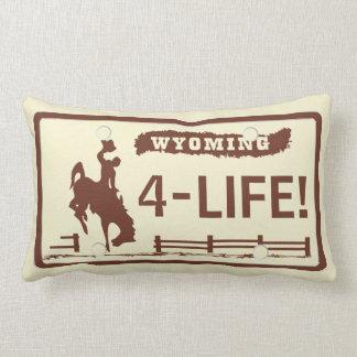 Placas de Wyoming Cojín Lumbar