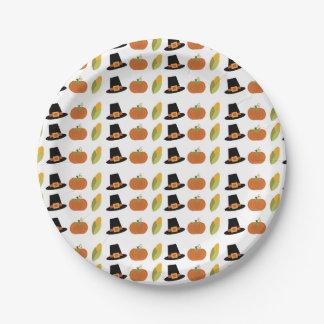 Placas del fiesta de la caída plato de papel