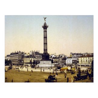 Place de la Bastille, 1900, París Tarjetas Postales