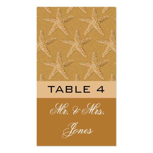 Placecards de la tabla para casarse tarjetas personales