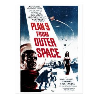 """""""Plan 9 postal del espacio exterior"""""""