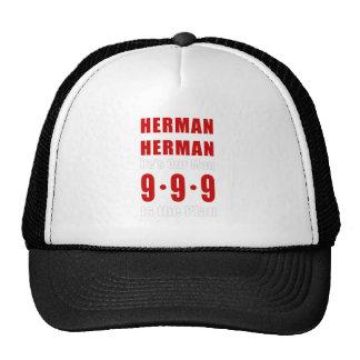 Plan de Herman Caín 999 Gorro De Camionero