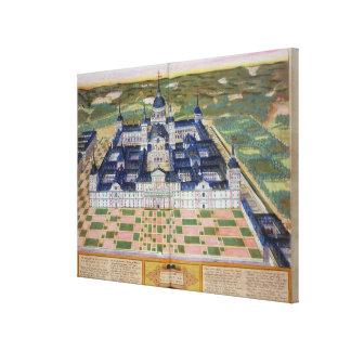 Plan del monasterio del EL Escorial, de 'Civita Impresión En Lienzo