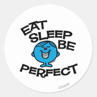 Plan For Life de Sr. Perfect's Pegatina Redonda