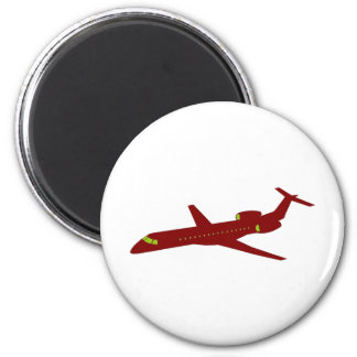 Plana - Avión 05 Imanes Para Frigoríficos