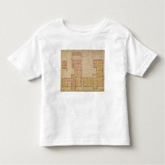 Planes para la casa roja, brezo de Bexley, 1859 Camiseta De Bebé