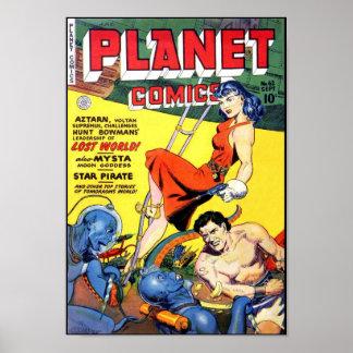 Planeta 2 cómicos póster