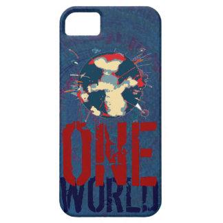 Planeta de la tierra - un mundo iPhone 5 Case-Mate carcasas