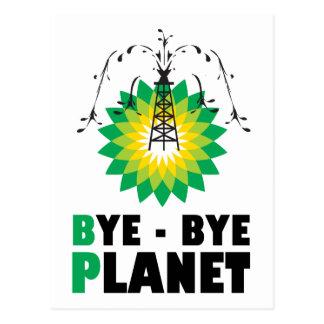 Planeta del adiós de BP Postales