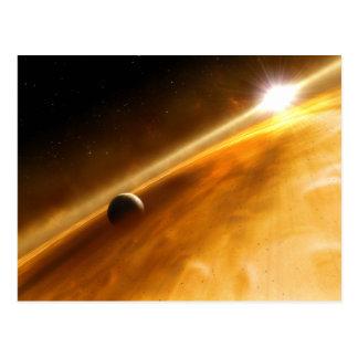 Planeta Fomalhaut B que está en órbita una estrell Postales