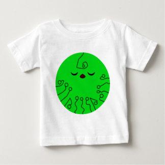 Planeta verde lindo camiseta