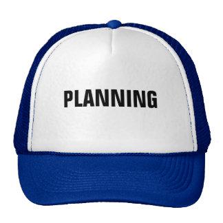 Planificación Gorras De Camionero