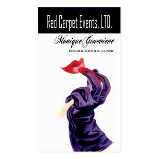 Planificador de eventos de los acontecimientos I Tarjeta De Negocio