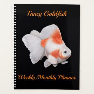 Planificador mensual semanal del Goldfish de lujo