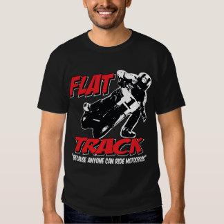PLANO Pista-Porque cualquier persona puede montar Camisetas