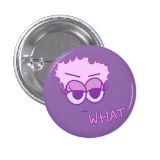 Plano qué botón (violeta y lavanda en el iris)