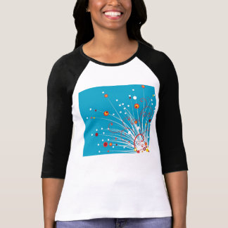Planta abstracta camisetas