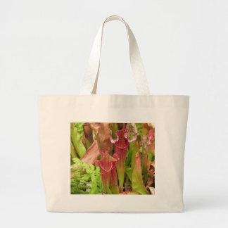 Plantas de jarra bolsa tela grande