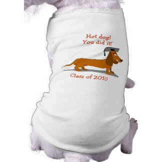 Plantilla adaptable de la graduación del perro del camiseta sin mangas para perro