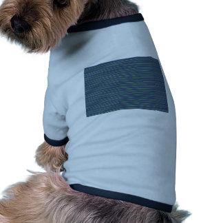 Plantilla: Añada el SALUDO en blanco o sombra lige Camisa De Mascota