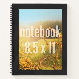Plantilla apta de la vertical del cuaderno