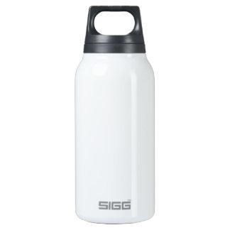 Plantilla blanca del aluminio de la libertad botella de agua