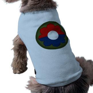 plantilla camiseta sin mangas para perro