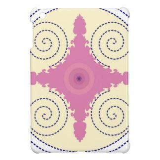 Plantilla circular del adorno del diseño para el