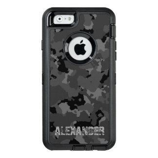 Plantilla conocida oscura de Camo Funda Otterbox Para iPhone 6/6s